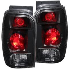 ANZO USA 211084 ANZO 1998-2001 Ford Explorer Taillights Black