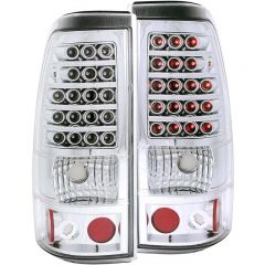 ANZO USA 311008 ANZO 2003-2006 Chevrolet Silverado 1500 LED Taillights Chrome