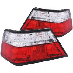 ANZO USA 221159 ANZO 1986-1995 Mercedes Benz E Class W124 Taillights Red/Clear
