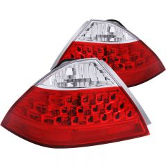 ANZO USA 221143 ANZO 2006-2007 Honda Accord Taillights Red/Clear