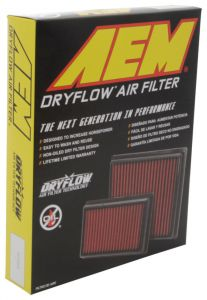 AEM Induction 28-50083 AEM 2019 Chevrolet Silverado 1500 V8-5.3L F/I DryFlow Air Filter