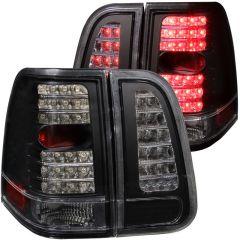 ANZO USA 311097 ANZO 2003-2006 Lincoln Navigator LED Taillights Black 4pc