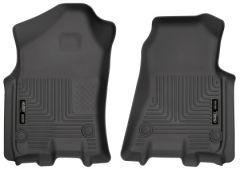 Husky Liners 13741 HL WB - Front - Black