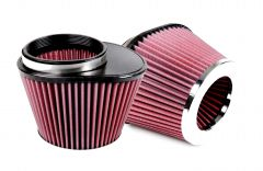 S&B Filters Air Filter For Intake Kit 75-3026 Oiled Cotton Cleanable Red