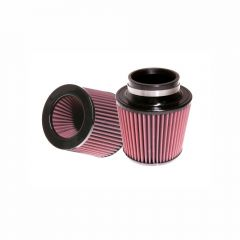 S&B Filters Air Filter For Intake Kit 75-2557 Oiled Cotton Cleanable 6 Inch Red
