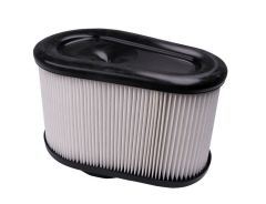 S&B Filters Air Filter For Intake Kit 75-5070D Dry Extendable White