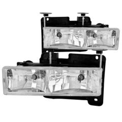 ANZO USA 111004 ANZ Crystal Headlights