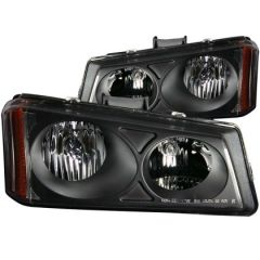 ANZO USA 111009 ANZ Crystal Headlights