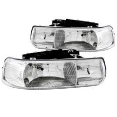ANZO USA 111011 ANZ Crystal Headlights