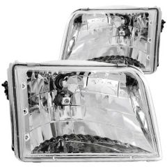 ANZO USA 111036 ANZ Crystal Headlights