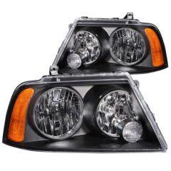 ANZO USA 111045 ANZ Crystal Headlights