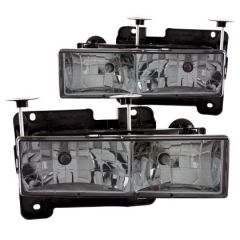 ANZO USA 111061 ANZ Crystal Headlights