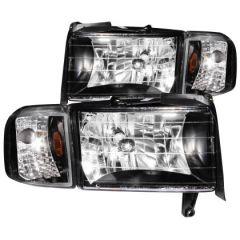 ANZO USA 111067 ANZ Crystal Headlights