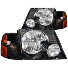 ANZO USA 111071 ANZ Crystal Headlights