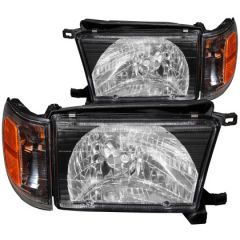 ANZO USA 111077 ANZ Crystal Headlights