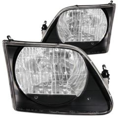 ANZO USA 111083 ANZ Crystal Headlights