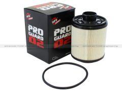 AFE aFe ProGuard D2 Fluid Filters Fuel F/F FUEL Ford Diesel Trucks 11-16 V8-6.7L (td)