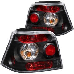 ANZO USA 221124 ANZO 1999-2005 Volkswagen Golf Taillights Black