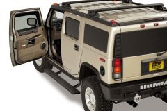 AMP Research 75107-01A 2003-2009 Hummer H2 PowerStep - Black