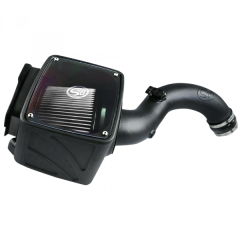 S&B Filters Cold Air Intake Dry Extendable White