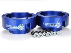Sinister Diesel SD-9409LVL-BLU 94-09 Dodge 2500/3500 Blue (4wd Only) Leveling Kit