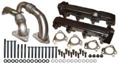 ATS Diesel Pulse Flow Exhaust Manifolds Non-Egr