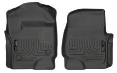 Husky Liners 13301 HL WB - Front - Black