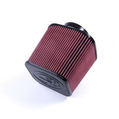 S&B Filters Air Filter For Intake Kits 75-1532 & 75-1525 Oiled Cotton Cleanable Red