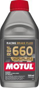 Motul 101667 MOT Brake Fluid - RBF Fluid
