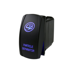 S&B Filters LED Rocker Switch with S&B Logo For Particle Separator