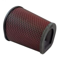 S&B Filters Air Filter For Intake Kits 75-6000 & 75-6001 Oiled Cotton Cleanable Red