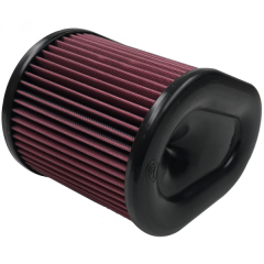 S&B Filters Air Filter For Intake Kit 75-5074 Oiled Cotton Cleanable Red