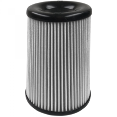 S&B Filters Air Filter For Intake Kits 75-5085D, 75-5082D, 75-5103D Dry Extendable White